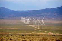 Desert wind energy project